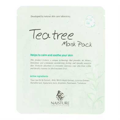 Naisture Korean Beauty Tea Tree Mask Pack Set of 2