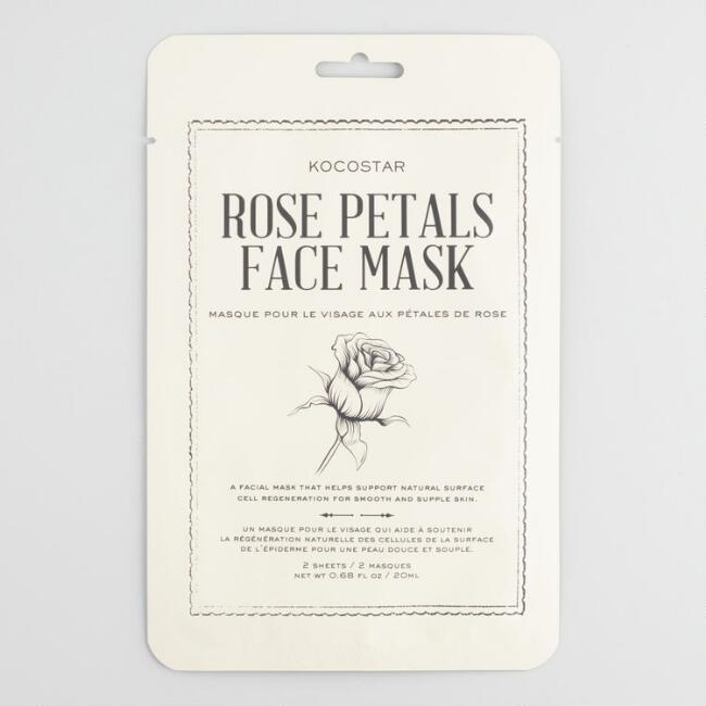 Kocostar Rose Flower Korean Beauty Mask Sheet Set of 2