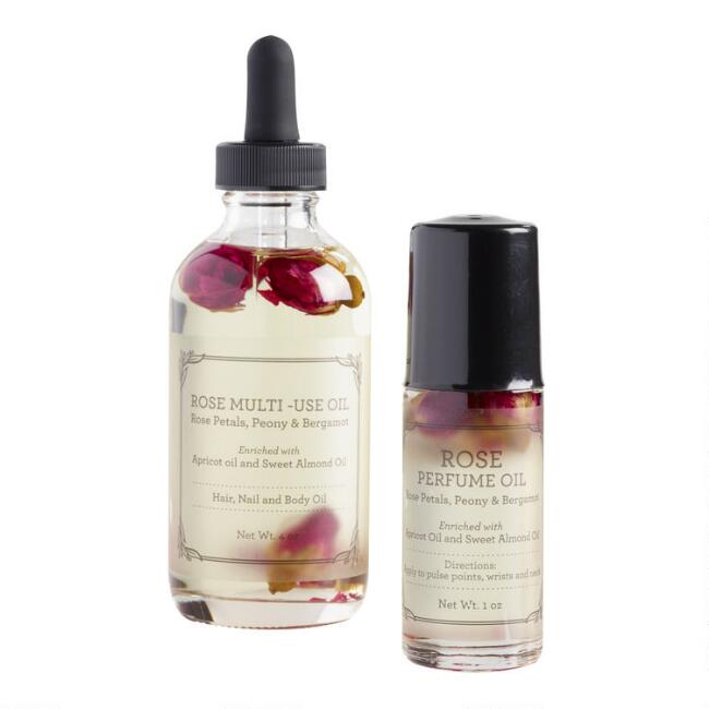 Rose Perfume Oil Collection