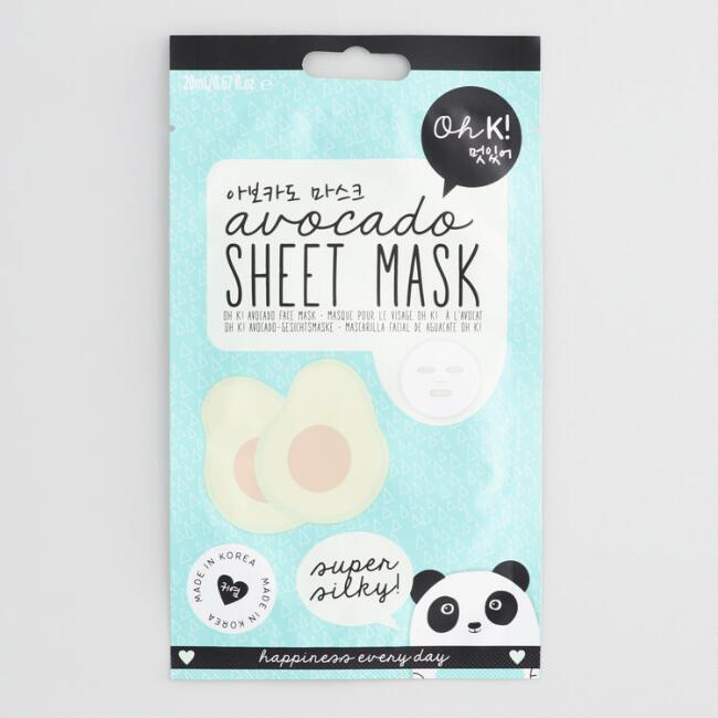 Oh K! Avocado Korean Beauty Sheet Mask Set of 2