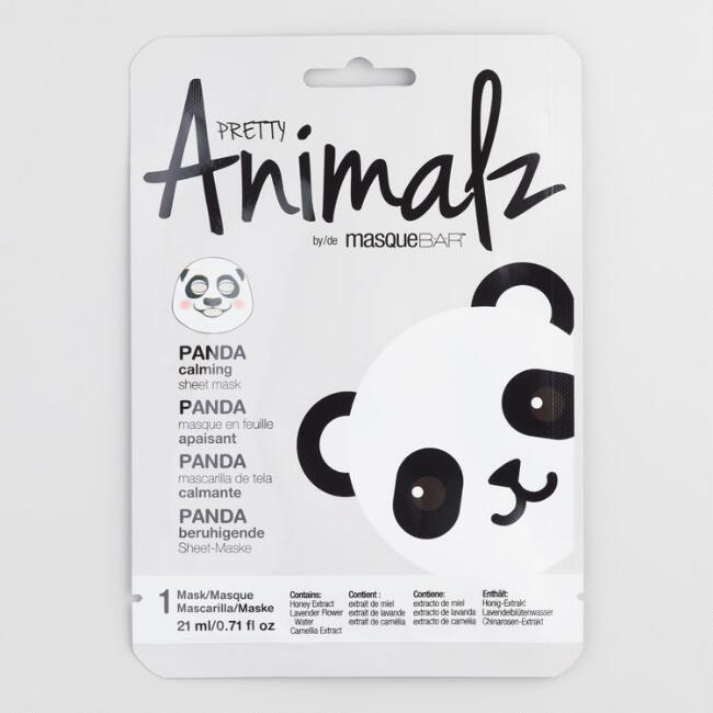 Pretty Animalz Panda Korean Beauty Sheet Mask Set of 2