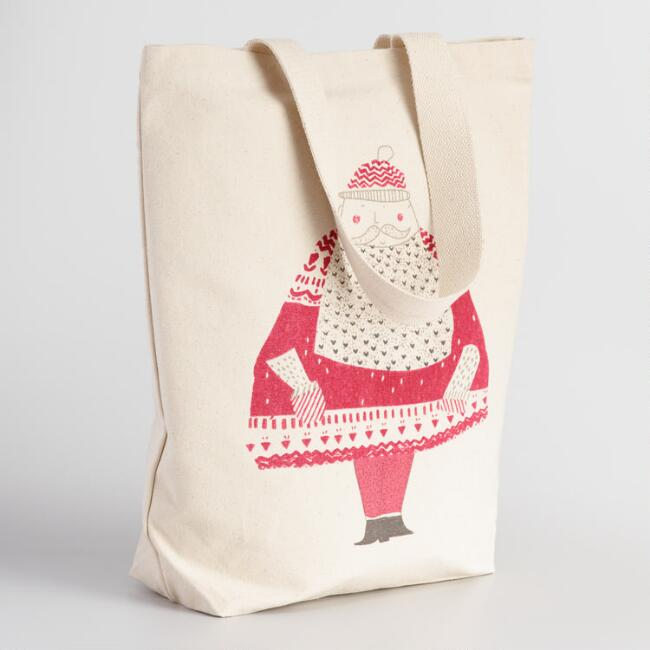Samichlaus Canvas Tote Bag