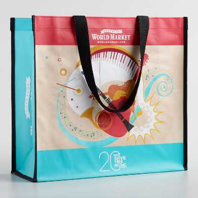 Large Save the Music Tote Bag