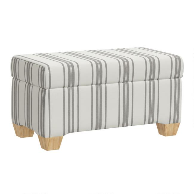 Pembroke Upholstered Storage Bench