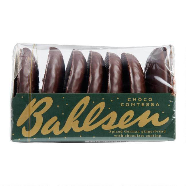 Bahlsen Contessa Chocolate Coated Lebkuchen, Set of 2