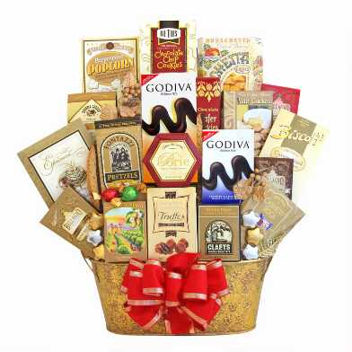 Shimmering Seasons Gift Basket