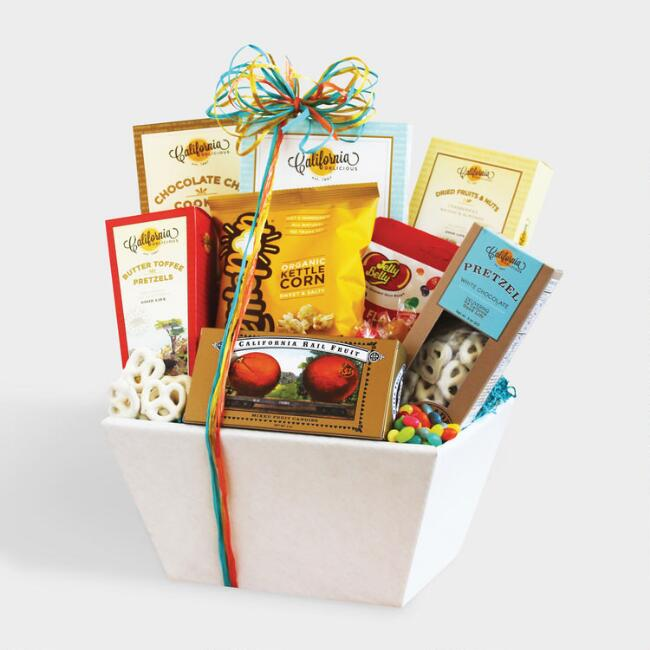 California Snack Sampler Gift Basket