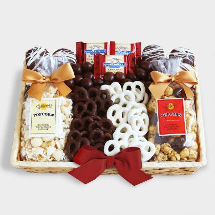 Create your own gift baskets basket kits world market crunch time sweet snacks gift basket solutioingenieria Choice Image