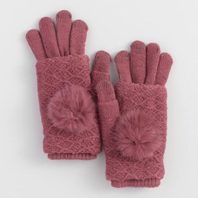 Berry 3 Way Touch Screen Gloves