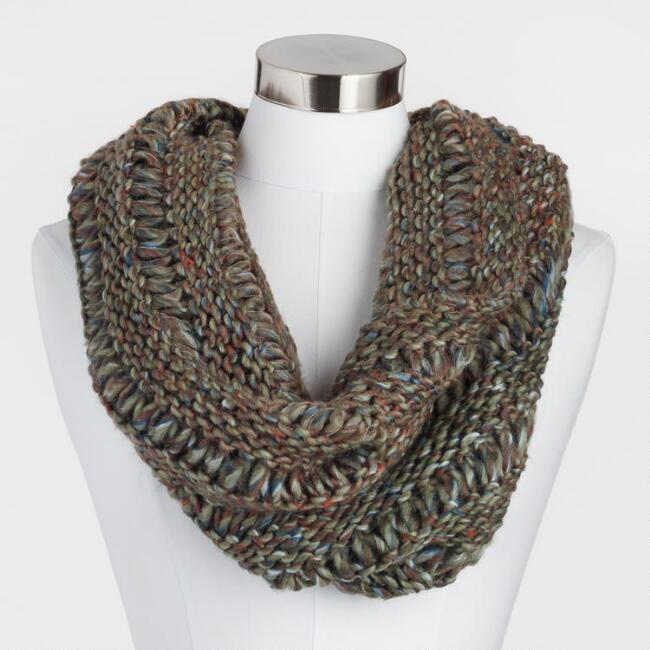 Multicolor Infinity Snood