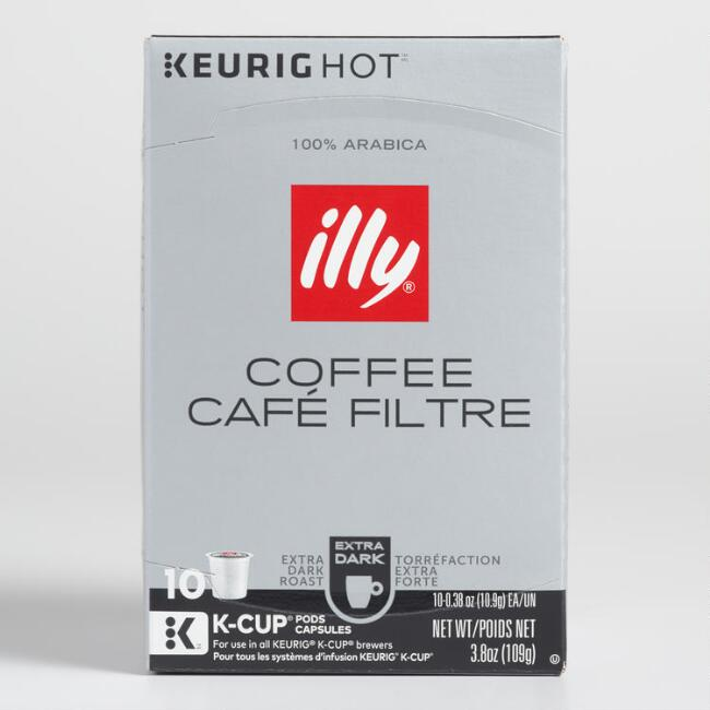 Illy Extra Dark Roast K-Cup 10 Count