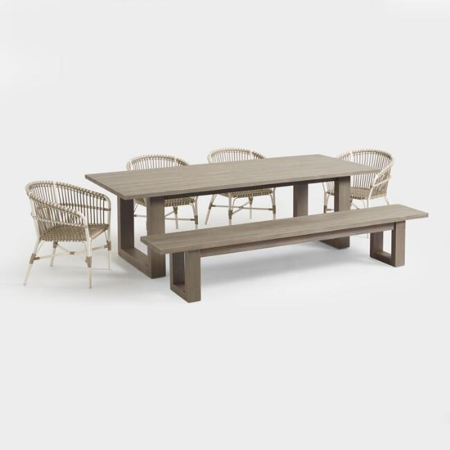 Gray San Sebastian Outdoor Dining Collection