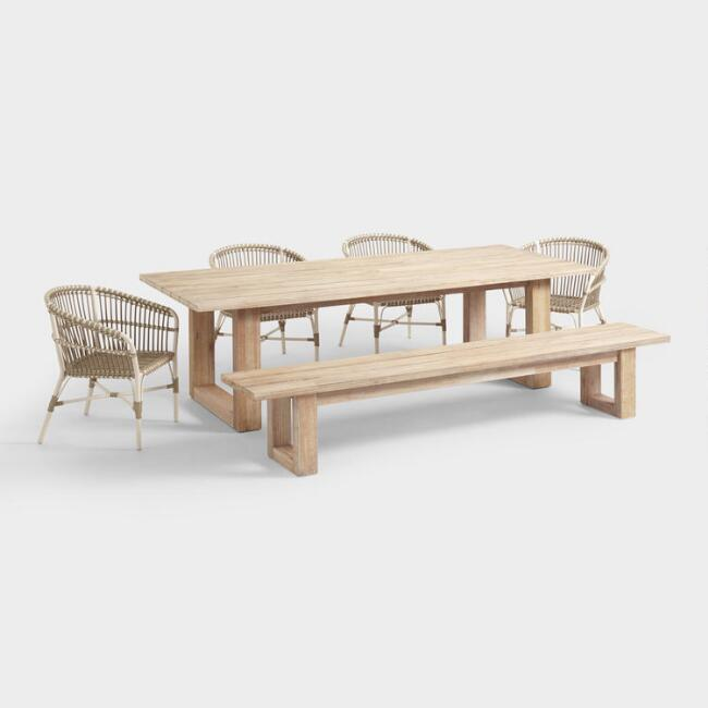 Whitewash San Sebastian Outdoor Dining Collection