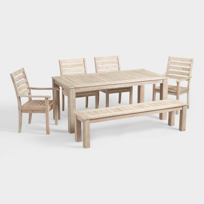 Whitewash Sevilla Outdoor Dining Collection