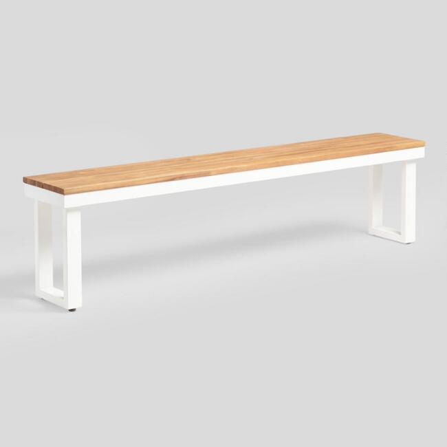 Avignon Outdoor Dining Bench