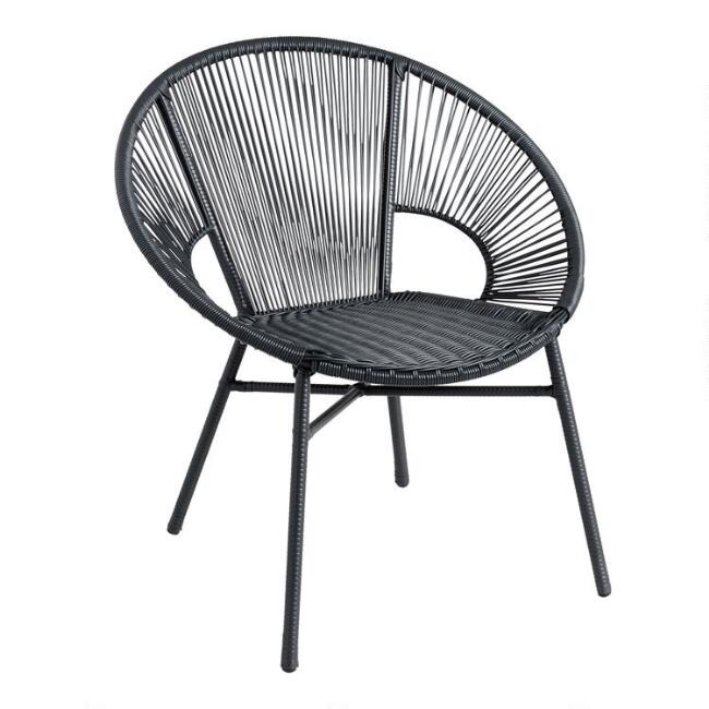 Round All Weather Wicker Camden Outdoor Chair