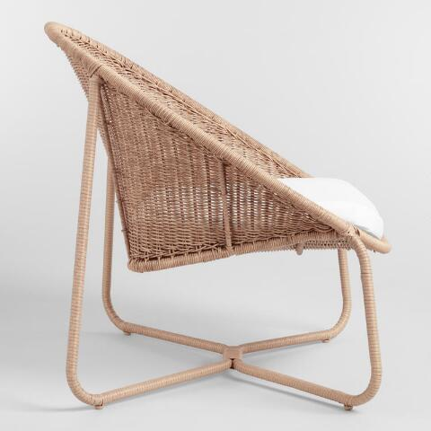 Natural All Weather Wicker Samoa Outdoor Egg Chair World