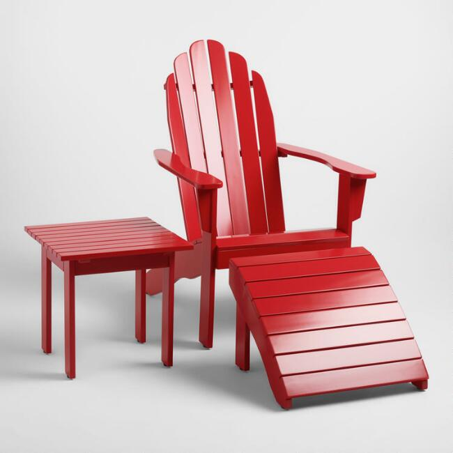 Barbados Red Adirondack Collection