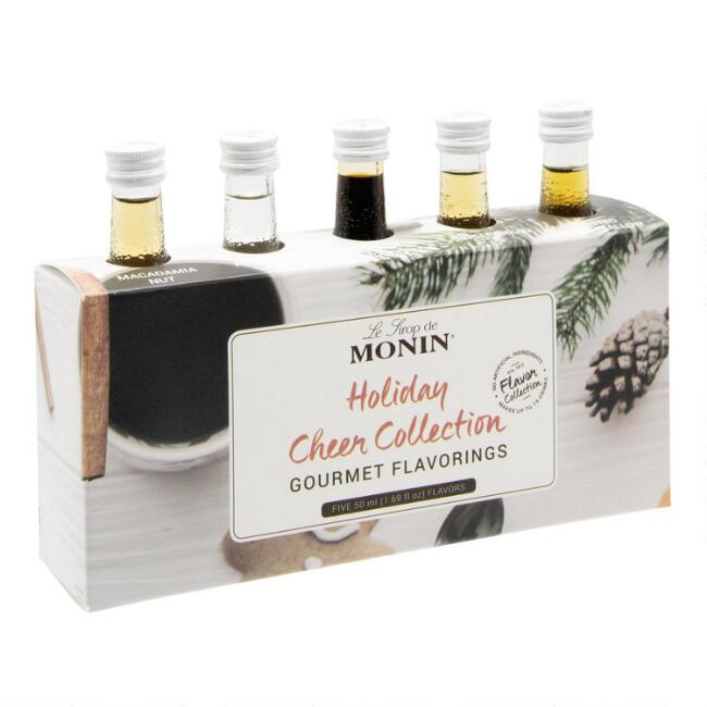 Monin Syrup Holiday Cheer 5 Piece Gift Pack
