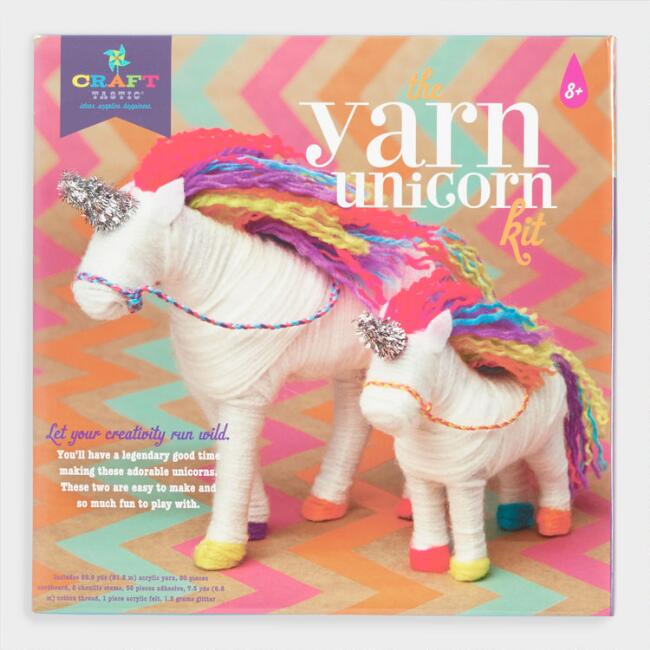 I Love Unicorns Yarn Crafting Kit