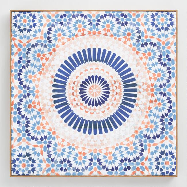 Mandala Terracotta by Oliver G Wall Art