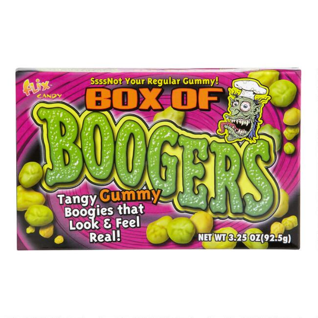 Box of Boogers in Theater Box, Set of 12