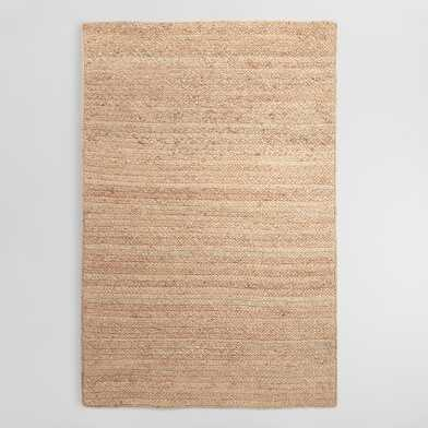 Natural Chunky Braided Jute Flynn Area Rug