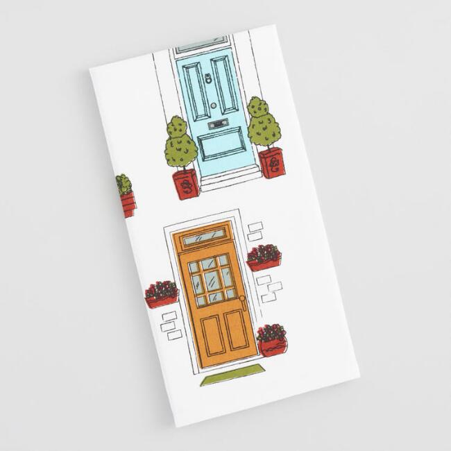 Doors Print Kitchen Towel