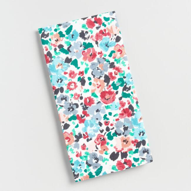 Rosie Floral Print Kitchen Towel