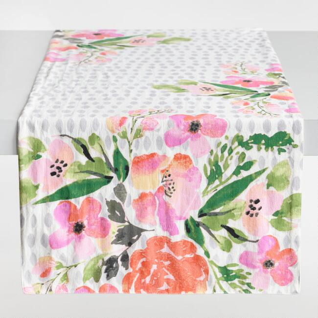 Floral Fiona Table Runner