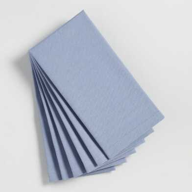 Periwinkle Buffet Napkins Set of 6