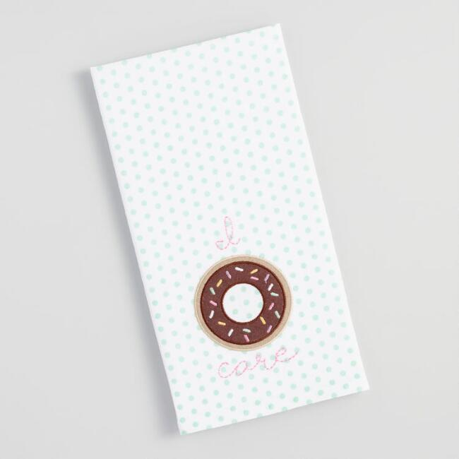 I Donut Care Kitchen Towel