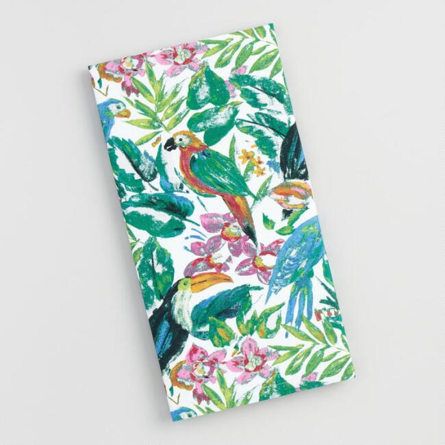 Tropical Birds Bali Kitchen Towel