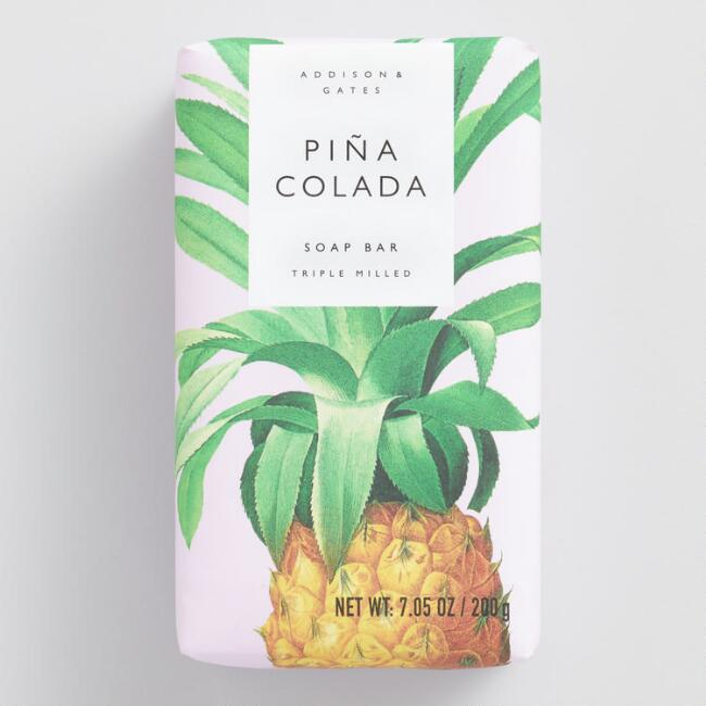 A&G Pastel Pina Colada Bar Soap Set of 2