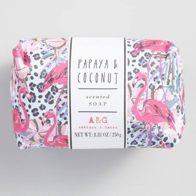 A&G Jungle Vibes Papaya and Coconut Bar Soap