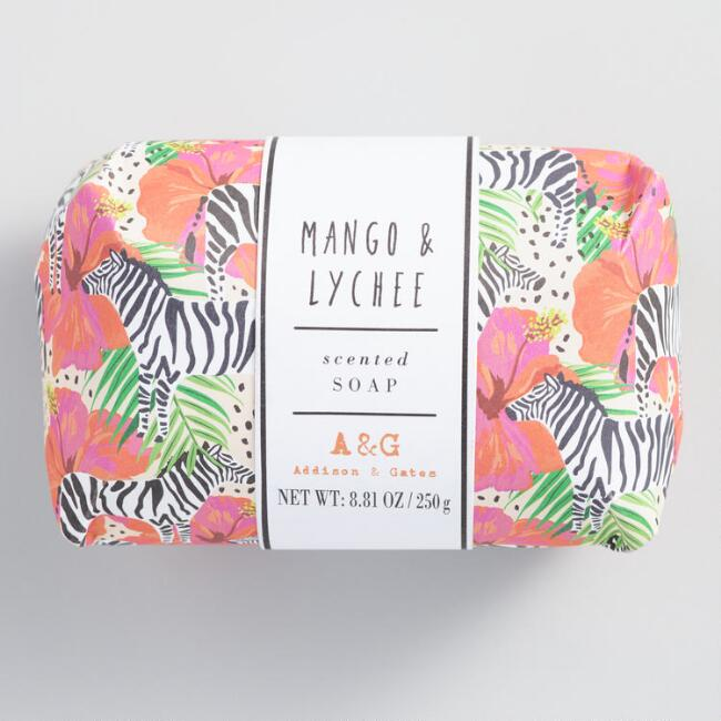 A&G Jungle Vibes Mango and Lychee Bar Soap