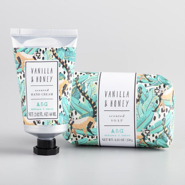 A&G Jungle Vibes Vanilla and Honey Collection