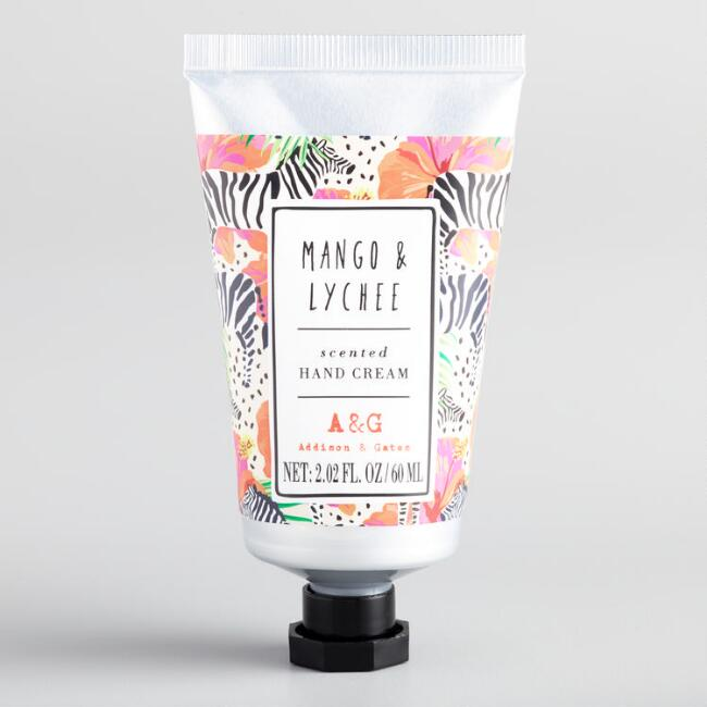 A&G Jungle Vibes Mango and Lychee Hand Cream Set of 2