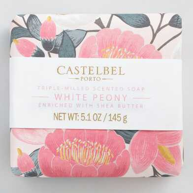 Castelbel Spring Florals White Peony Bar Soap