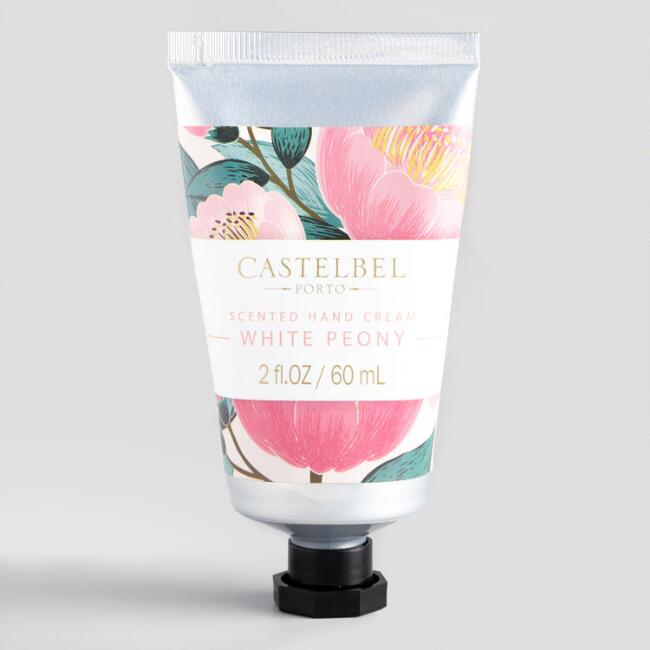 Castelbel Spring Florals White Peony Hand Cream Set of 2