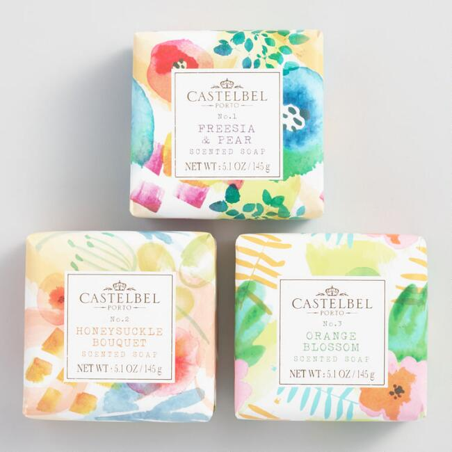 Castelbel Watercolors Bar Soap Collection