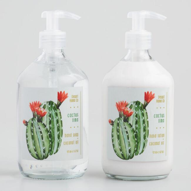 Desert Home Cactus Lime Hand Care Collection