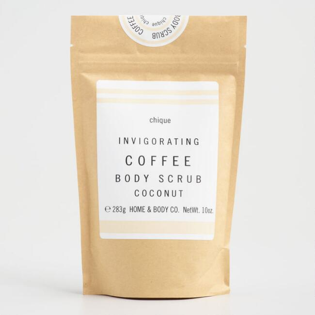 Chique Exfoliating Coffee Coconut Body Scrub