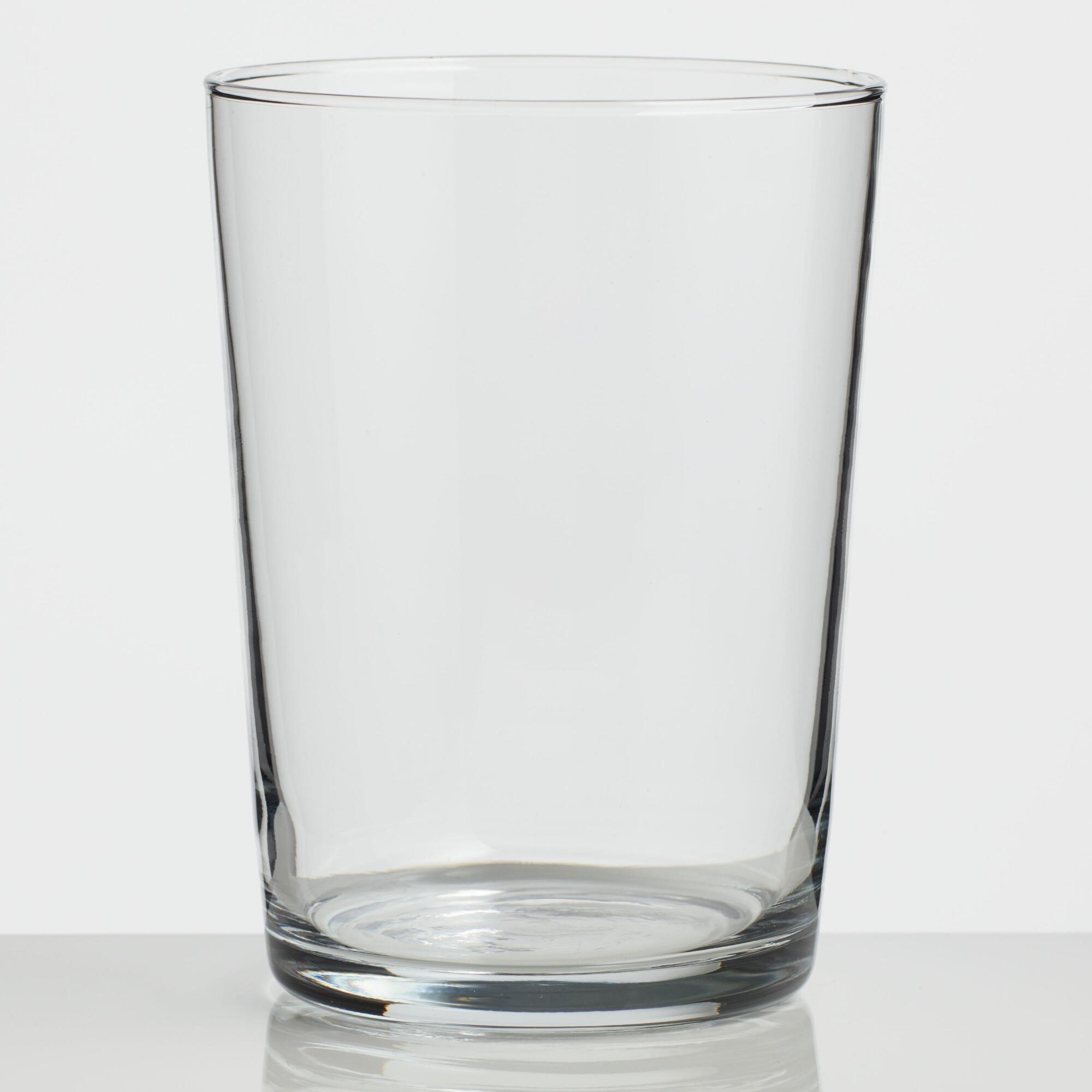 Clear Collins Glasses Set of 4 by World Market