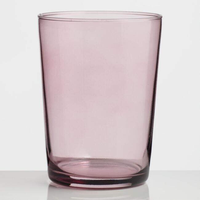 Pink Collins Glass Set of 4