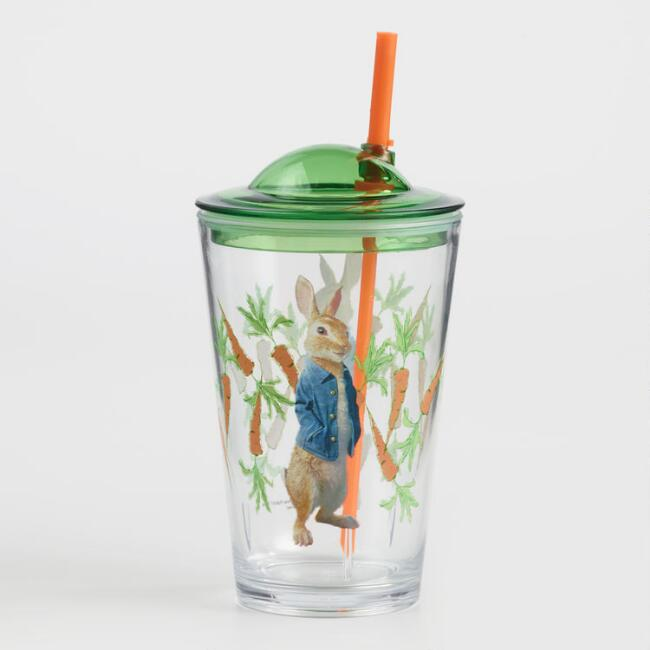 Peter Rabbit Acrylic Sippy Cups Set of 2