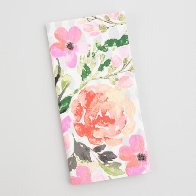 Floral Fiona Napkins Set of 4