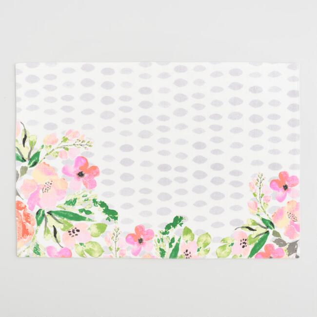 Floral Fiona Placemats Set of 4