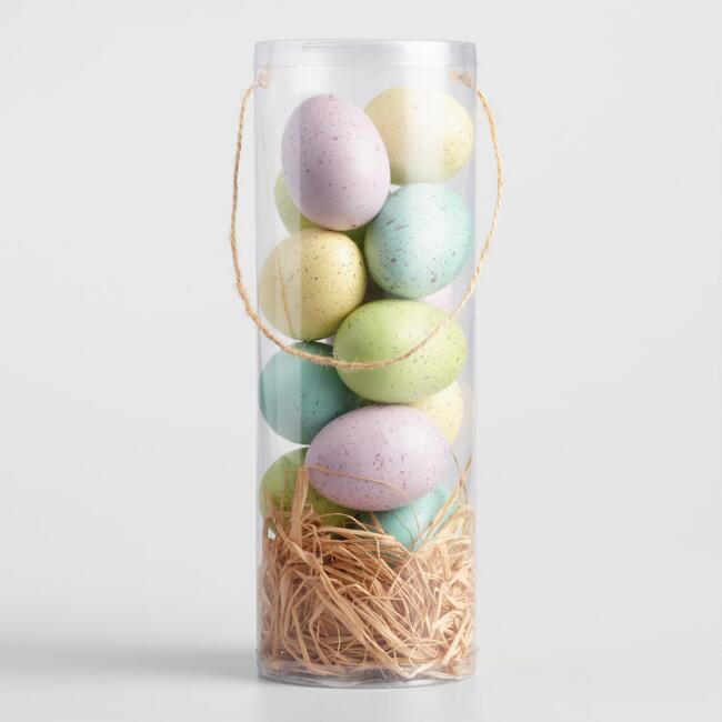 Pastel Eggs in Tube 12 Pack
