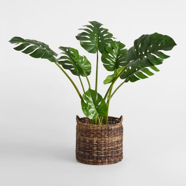 Faux Monstera Plant | World Market